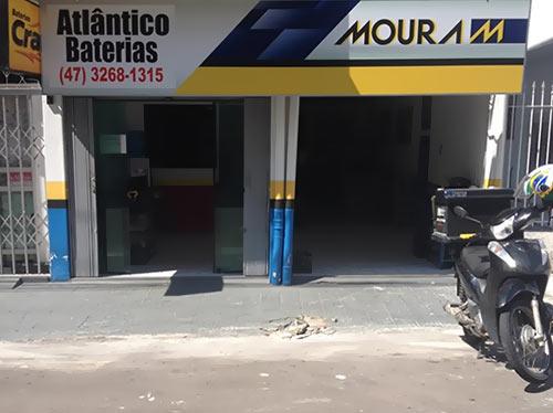 Fachada Atlântico Baterias